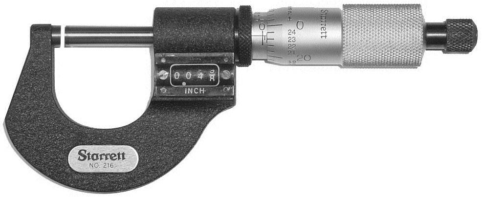 Starrett Digital Micrometer